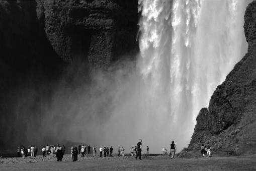 Skógafoss Iceland waterfall volcano