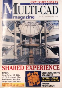 Batwing surface featured in a popular press magazine 1993